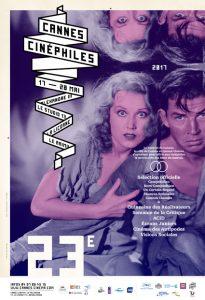 Affiche Cannes Cinéphiles 2017